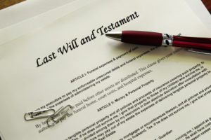 Writing a new will