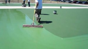 Tennis Court Resurfacing and Daily Maintenance of Clay courts